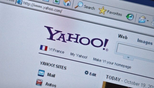 The Yahoo homepage is seen on a computer screen in Washington on October 19, 2010. Yahoo said that net profit more than doubled in the third quarter to 396.1 million dollars and revenue rose two percent to 1.6 billion dollars. AFP PHOTO/Nicholas KAMM (Photo credit should read NICHOLAS KAMM/AFP/Getty Images)