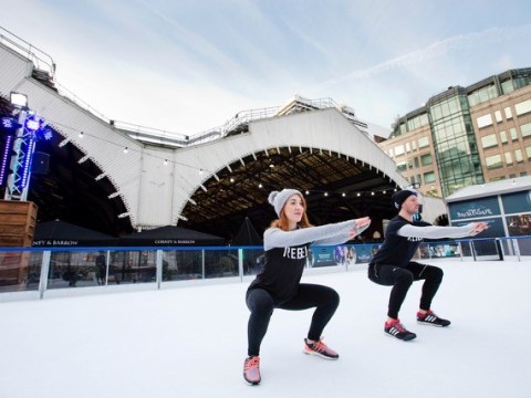 New ice rink workout promises to burn 500 calories in 20 minutes