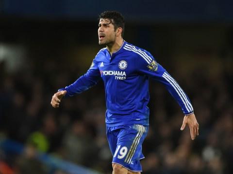 Chelsea's Diego Costa has more goals under Guus Hiddink than Jose Mourinho this season