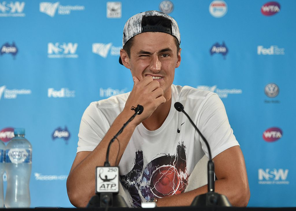 Bernard Tomic hits back at Roger Federer criticism after Australian open win