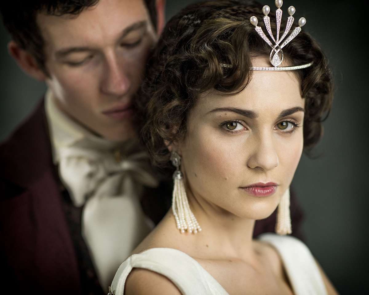Helene and Anatole Kuragin have an incestuous liaison in the TV adaptation of War and Peace