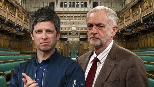 Noel Gallagher: Jeremy Corbyn's politics is 'communism' Credit: Getty Images