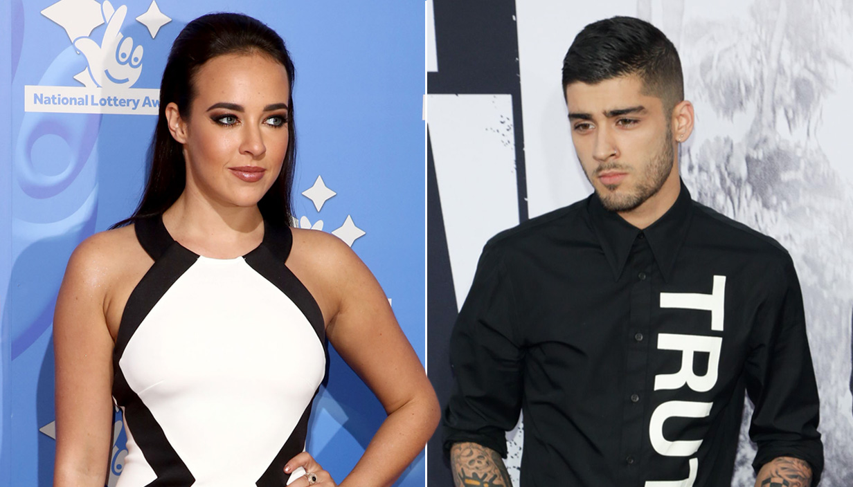 Could I have a split of Stephanie Davis and Zayn Malik please? Credit: Getty Images