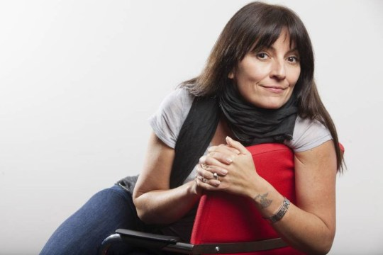 Mandatory Credit: Photo by Rii Schroer/REX/Shutterstock (4822513r).. Davina McCall.. Davina McCall at the ITV offices, London, Britain - 12 May 2015.. ..