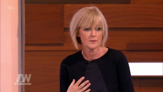 Jane Moore, a panellist on 'Loose Women'. Broadcast on ITV1 HD. Featuring: Jane Moore Where: United Kingdom When: 08 Jan 2016 Credit: Supplied by WENN **WENN does not claim any ownership including but not limited to Copyright, License in attached material. Fees charged by WENN are for WENN's services only, do not, nor are they intended to, convey to the user any ownership of Copyright, License in material. By publishing this material you expressly agree to indemnify, to hold WENN, its directors, shareholders, employees harmless from any loss, claims, damages, demands, expenses (including legal fees), any causes of action, allegation against WENN arising out of, connected in any way with publication of the material.**