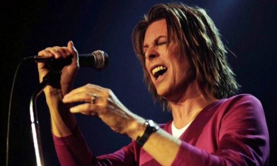UNSPECIFIED, UNSPECIFIED - JANUARY 10: Singer David Bowie performs onstage at the Astoria on December 05, 1999 in LONDON, England. (Photo by Amanda Edwards/Getty Images)