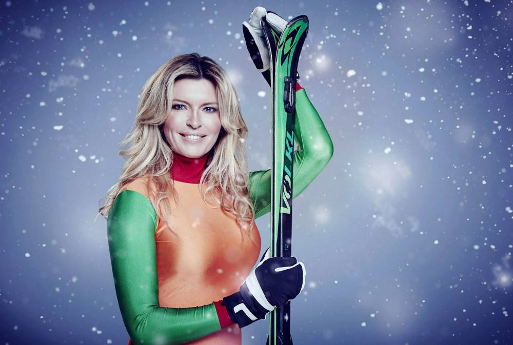 Undated handout file photo issued by Channel 4 of Tina Hobley, one of the contestants in this year's Channel 4 reality sport show, The Jump. PRESS ASSOCIATION Photo. Issue date: Saturday January 16, 2016. See PA story SHOWBIZ Jump. Photo credit should read: Ian Derry/Channel 4/PA Wire NOTE TO EDITORS: This handout photo may only be used in for editorial reporting purposes for the contemporaneous illustration of events, things or the people in the image or facts mentioned in the caption. Reuse of the picture may require further permission from the copyright holder.