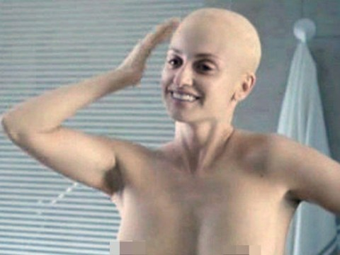 Bald Penelope Cruz is completely unrecognisable in her Ma Ma role as a cancer patient