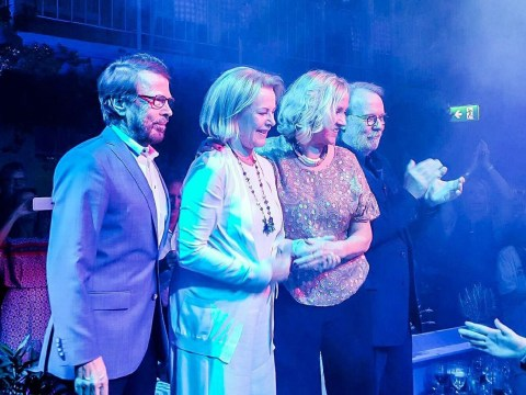 ABBA just reunited on stage for the first time in 30 years