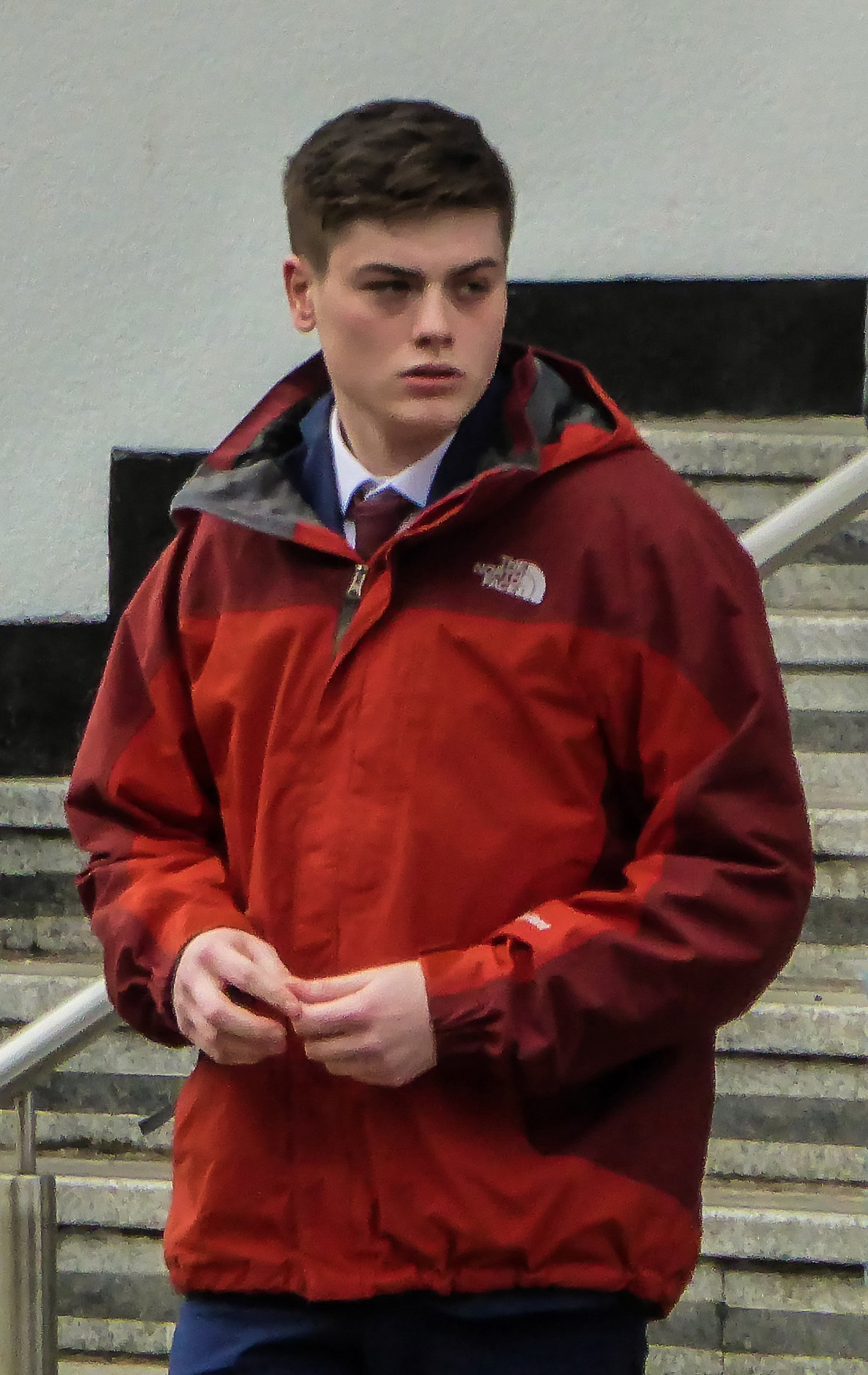 Jack Merrilees. A 21-year-old man stabbed his step-father to death with a kitchen knife during a drunken row about former Take That star GARY BARLOW, a court heard. See NTI story NTIBARLOW. Jack Merrilees is accused of knifing his mum's husband Eddie Cornet, 55, three times in the heart and liver, during a boozy house party. Mr Cornet was killed after the attack at his home in the quite upmarket cul-de-sac in Hatton Park, near Warwick, at 11pm on May 2 last year. The jury heard Merrilees attacked Mr Cornet, who was married to his mum Stephanie, 55, after a day's drinking in pubs around the town with his girlfriend Becky Beveridge.