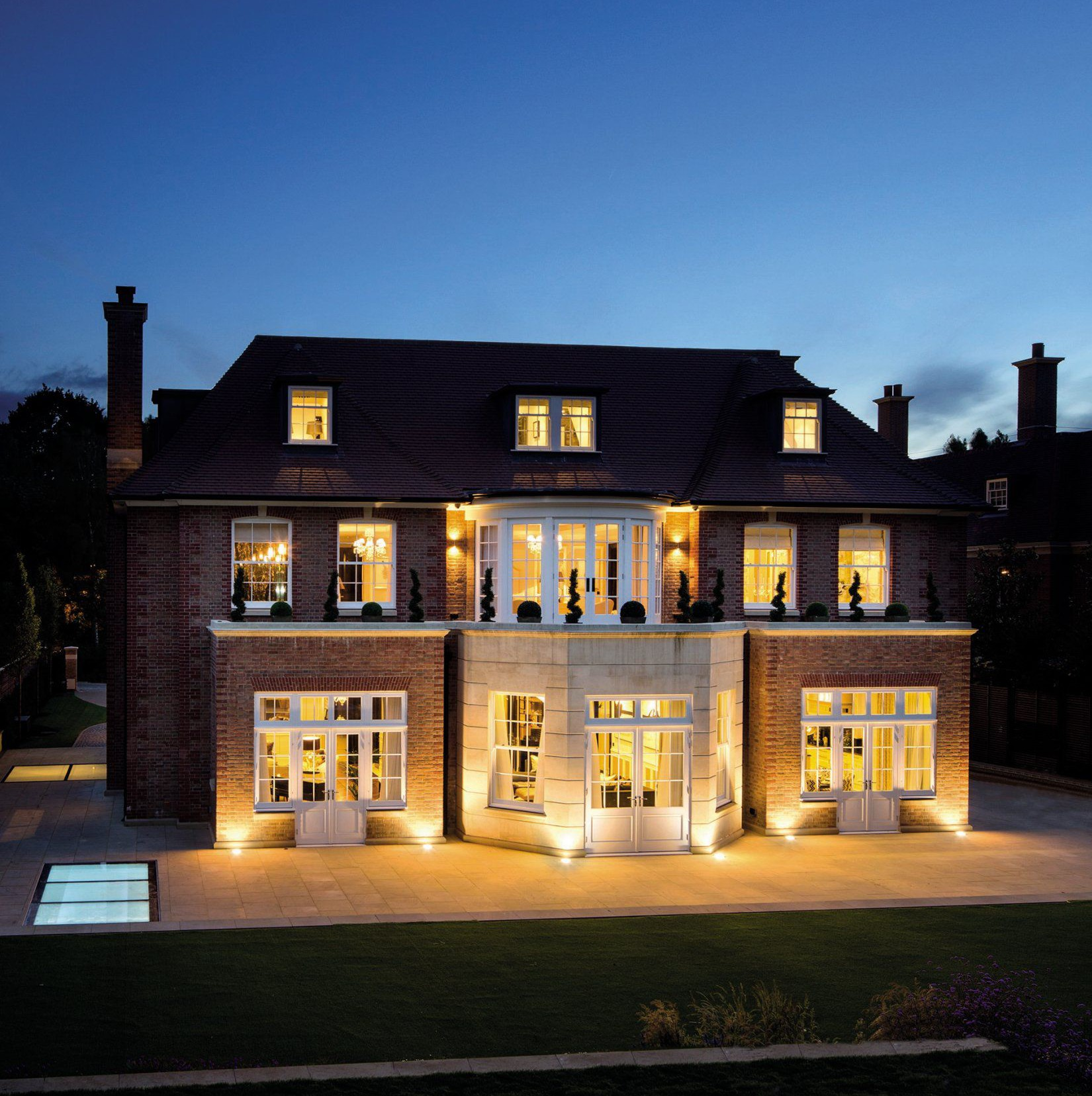 This brand new mansion with its own wine tasting and cigar smoking floor has sold for more than £30 million in one of the biggest deals of the past 12 months. See SWNS story SWSALE: The Halcyon is a seven bedroom, state-of-the-art home with 24-hour security and an underground car park. It was put on the market by Knight Frank, Savills and Glentree Estates last year for a bumper £32.5 million. And it has now sold for ìnot shy of the asking priceî in a deal which is set to net the government between £3.5 and £4.5 million in stamp duty.