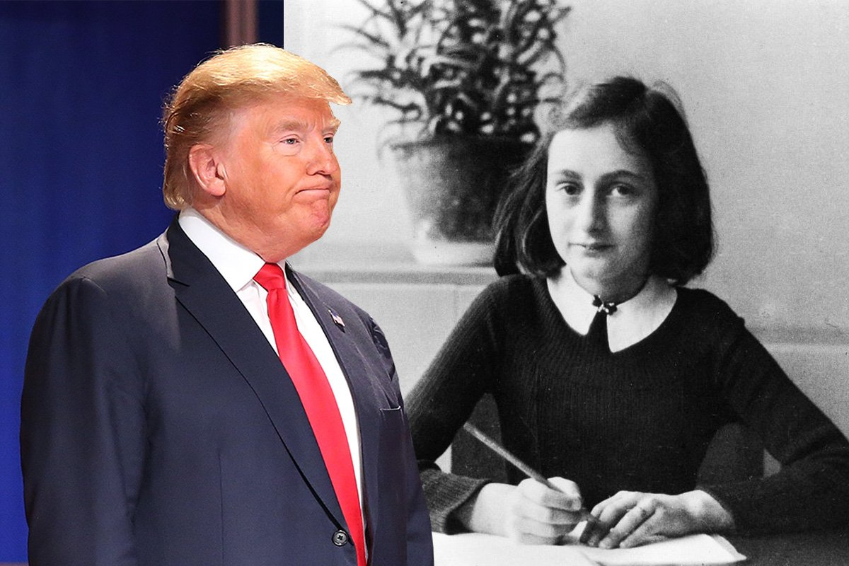 Anne Frank's stepsister has a strong warning about Donald Trump