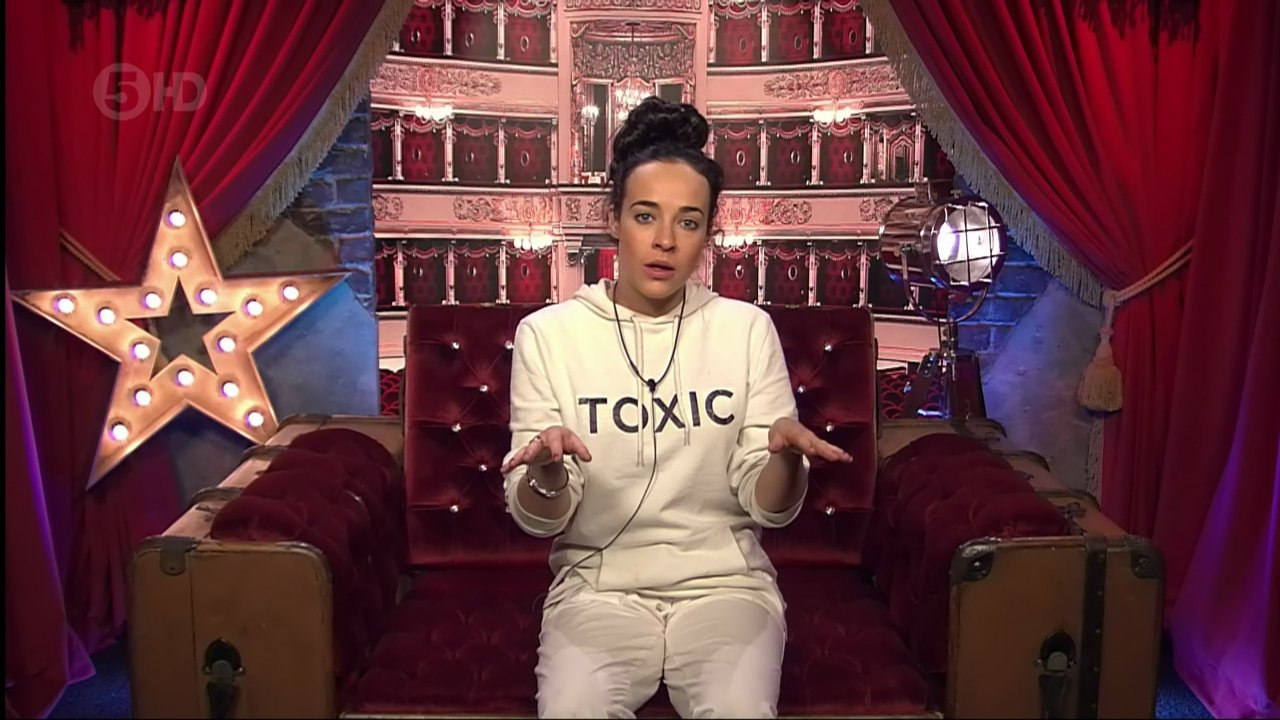 Stephanie Davis in the diary room threatening to quit 'Celebrity Big Brother'. Broadcast on Channel 5 HD. Featuring: Stephanie Davis Where: United Kingdom When: 28 Jan 2016 Credit: Supplied by WENN **WENN does not claim any ownership including but not limited to Copyright, License in attached material. Fees charged by WENN are for WENN's services only, do not, nor are they intended to, convey to the user any ownership of Copyright, License in material. By publishing this material you expressly agree to indemnify, to hold WENN, its directors, shareholders, employees harmless from any loss, claims, damages, demands, expenses (including legal fees), any causes of action, allegation against WENN arising out of, connected in any way with publication of the material.**