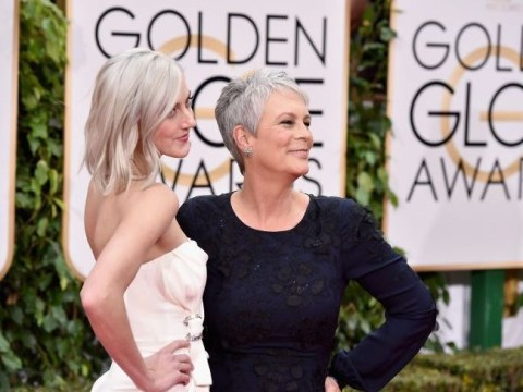 Golden Globes 2016: Jamie Lee Curtis and her daughter Annie Guest both have grey hair now