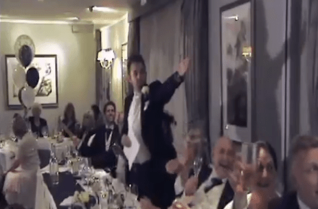 arsenal fan wedding speech