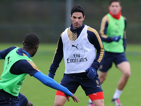 Arsenal injury boost as Mikel Arteta makes early return to training