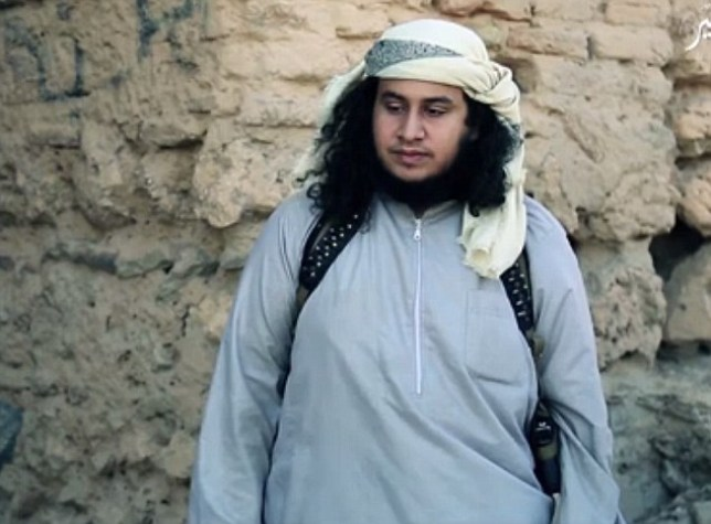 Abu Zaid al-Jazwari (believed to be pictured) is alleged to have raped the boy