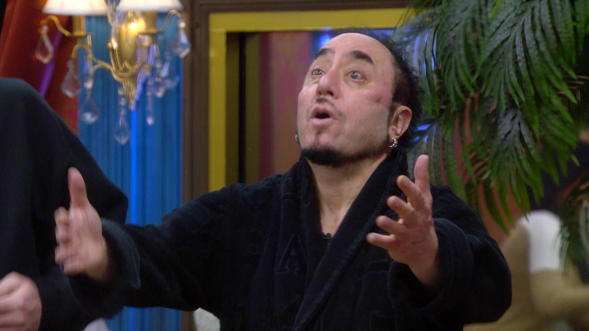 David Gest has left Celebrity Big Brother