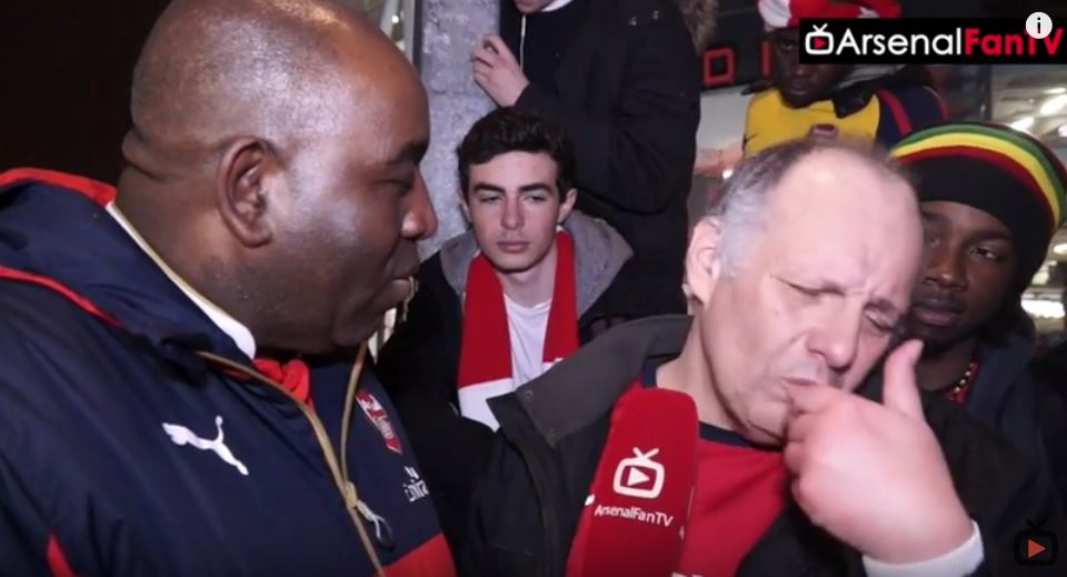 Arsenal fan Claude breaks down and demands Arsene Wenger is sacked after Chelsea loss