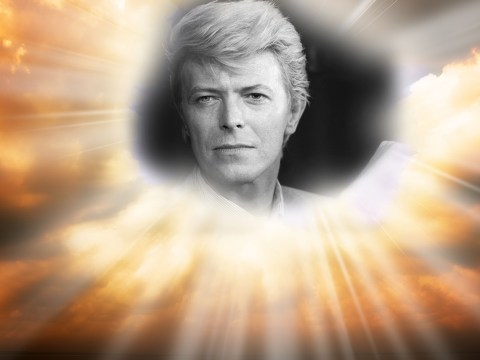 The last person David Bowie followed on Twitter was… God