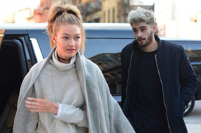 Zayn and Gigi are viewing apartments Splash