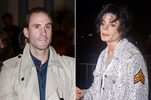 joseph fiennes to play michael jackson Getty