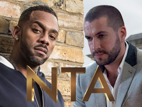 EastEnders' Richard Blackwood and Coronation Street's Shayne Ward fight it out for best newcomer gong at the 2016 NTAs