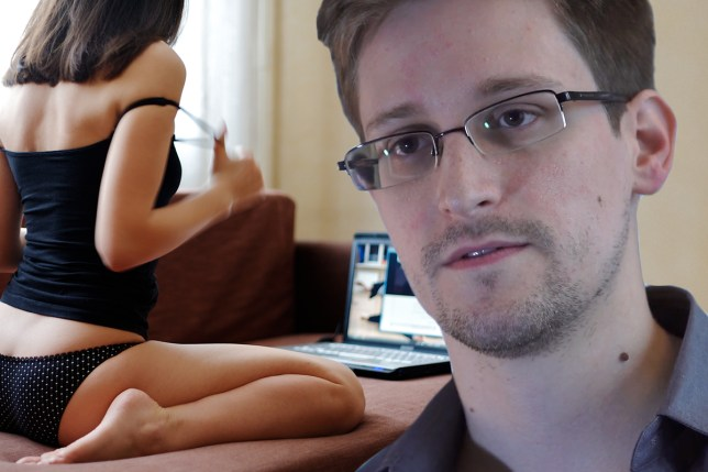 Why are people sending naked pictures of themselves to Edward Snowden Getty