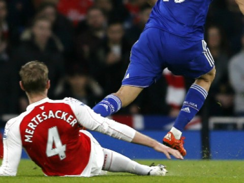 Arsenal fans report Chelsea's Diego Costa to FA for diving to get Per Mertesacker sent off