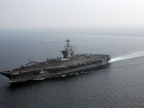 Two U.S. Navy boats in Iranian custody, Pentagon confirms