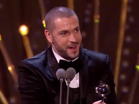 Shayne Ward finally sheds his X Factor tag by winning best newcomer for Coronation Street at NTAs