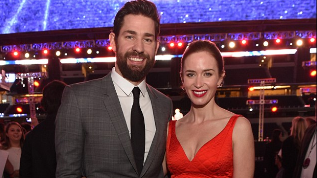 Emily Blunt and John Krasinski will not be lovers on screen (Picture: FILE)