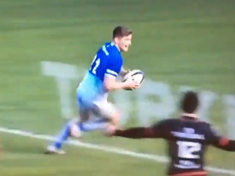 Owen Farrell produces rugby fail of the year during Toulouse v Saracens