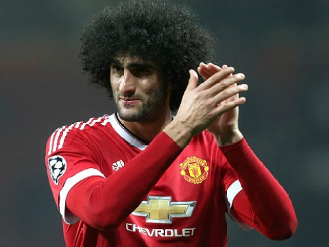 Manchester United's Marouane Fellaini agrees AC Milan transfer