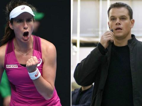 Jo Konta compares herself to Jason Bourne after historic Australian Open win
