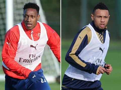 Francis Coquelin, Danny Welbeck and Jack Wilshere return to Arsenal training ahead of schedule