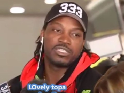 Chris Gayle snaps at journalists after being fined over 'sexist' Mel McLaughlin interview
