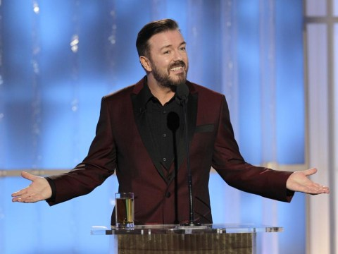 Ricky Gervais to host Golden Globes again next year – for 'the very last time'