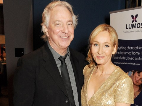 Harry Potter author J K Rowling has revealed what she told Alan Rickman to help him play Severus Snape