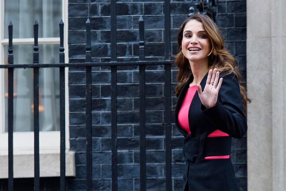 Such utter class from Queen Rania of Jordan (Picture: Getty Images)