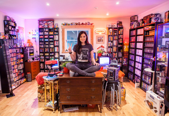 Donkey Kong, Pac-Man, arcade machines and 20 TVs… This is the retro games room of your dreams
