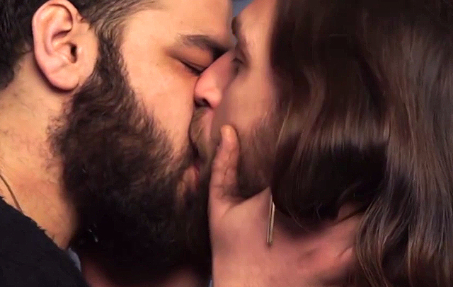 Awesome video of Jewish and Arab people kissing disappeared from Facebook and we want to know why