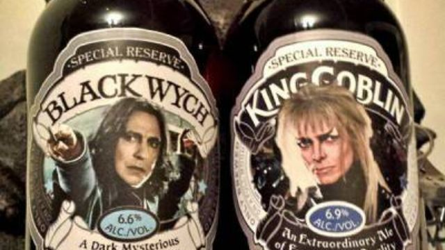 People are wishing these ales celebrating the lives of David Bowie and Alan Rickman were real