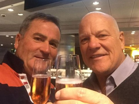 Richard Keys and Andy Gray trolled on Twitter after celebrating five-year anniversary of Sky Sports sacking