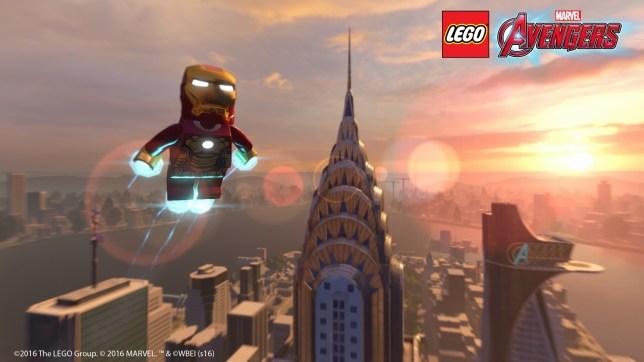 Lego Marvel's Avengers (PS4) - Iron Man gets a downgrade