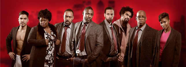 "Louis Smith, Cecilia Noble, Lenny Henry, Idris Elba, Rio Ferdinand, David Haye, Ian Wright and Denise Lewis Idris said: ""I don't want to reveal too much about the sketch but viewers at home are in for a real treat as they'll get to see a new side of Luther, which I'm really excited about. I'm proud to be supporting such an amazing cause and hope that everyone gets involved and does their bit for Sport Relief this year."""