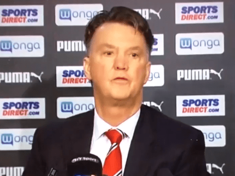 Louis van Gaal calls reporter fat during Manchester United press conference