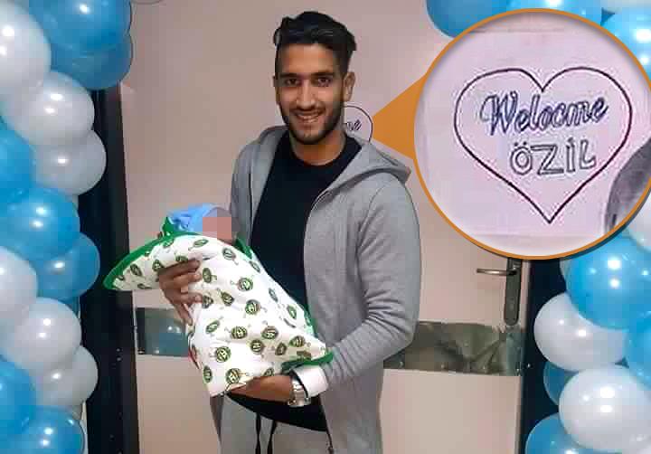 Egyptian footballer Ahmed Nabil Manga names his son after Arsenal's Mesut Ozil