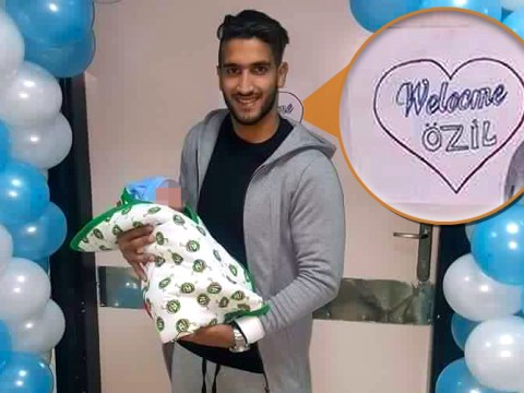 Egyptian footballer Ahmed Nabil Manga names his son after Arsenal's Mesut Ozil
