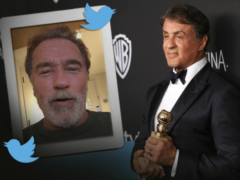 Golden Globes 2016: Sly Stallone gets standing ovation and a message from Arnie Schwarzenegger after Supporting Actor win